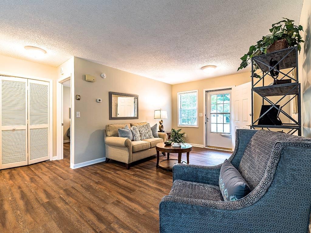 Hardwood Floor in Sitting room at Heritage Hills, North Carolina, 28791