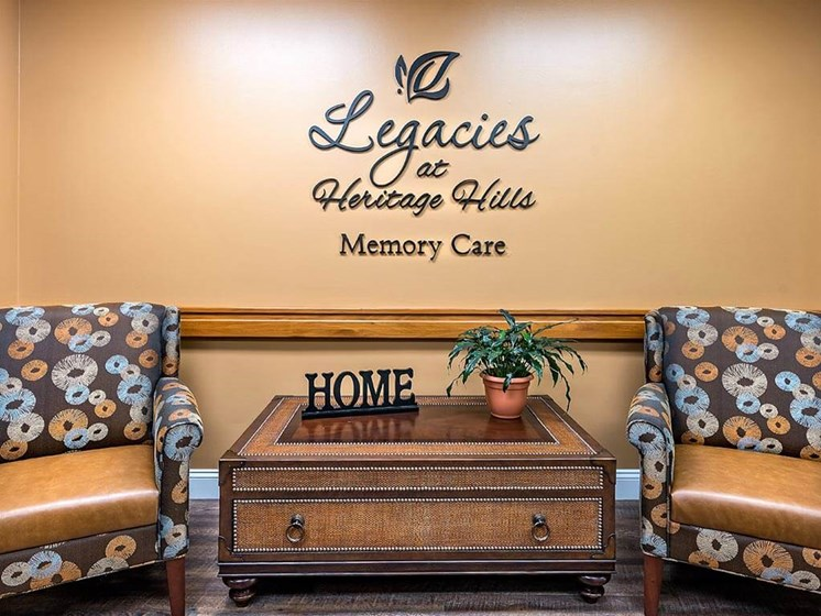 Quality Interiors and Welcoming Atmosphere at Pacifica Senior Living Heritage Hills, Hendersonville, NC