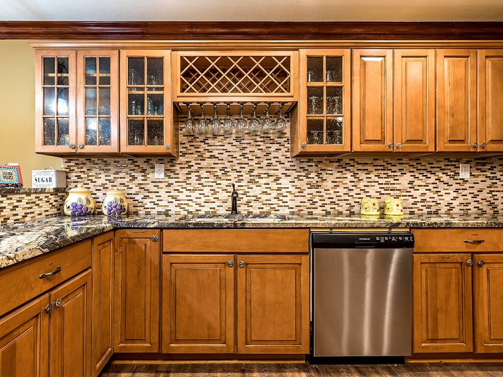 Kitchen Space for Cooking Meals with Family at Pacifica Senior Living Heritage Hills NC