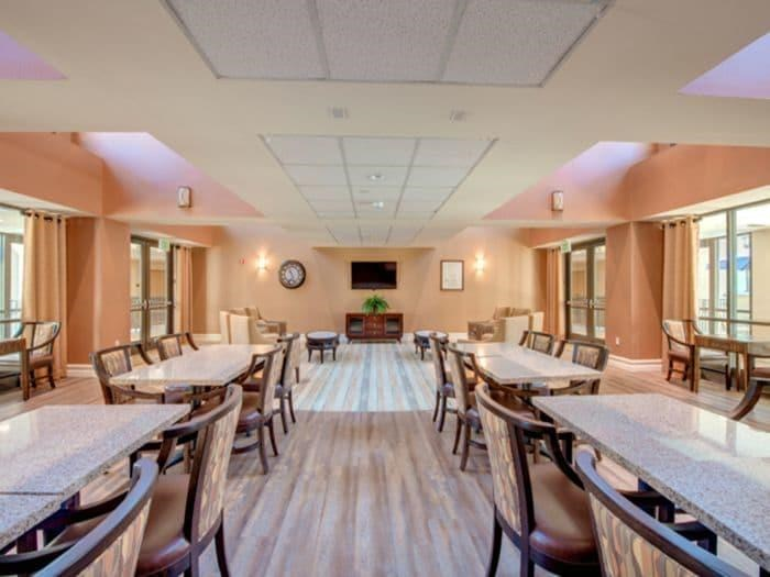 Freshly prepared meals at Pacifica Senior Living Hillsborough, CA