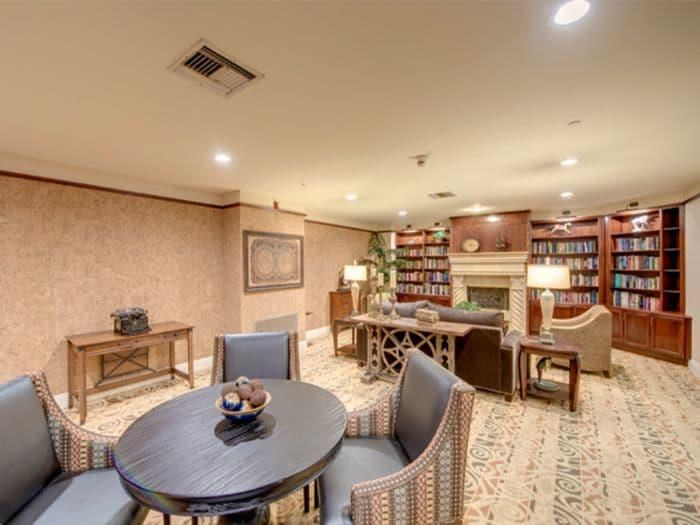 Recreation Study at Pacifica Senior Living Hillsborough