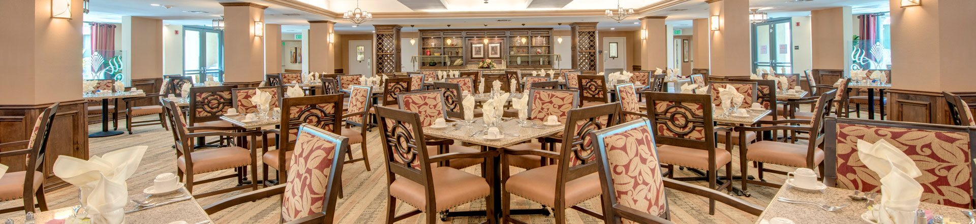 Restaurant-style Dining at Pacifica Senior Living Hillsborough, Chino, 91710
