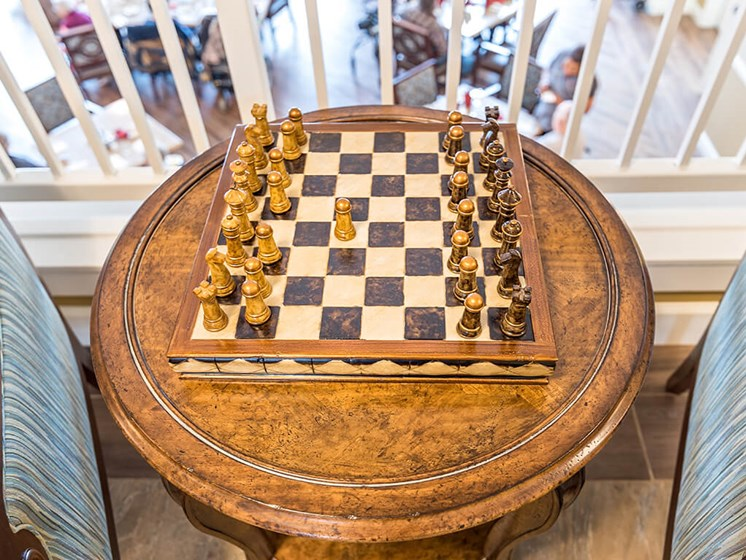 Chess Game to Win at Pacifica Senior Living Klamath Falls, Klamath Falls, OR