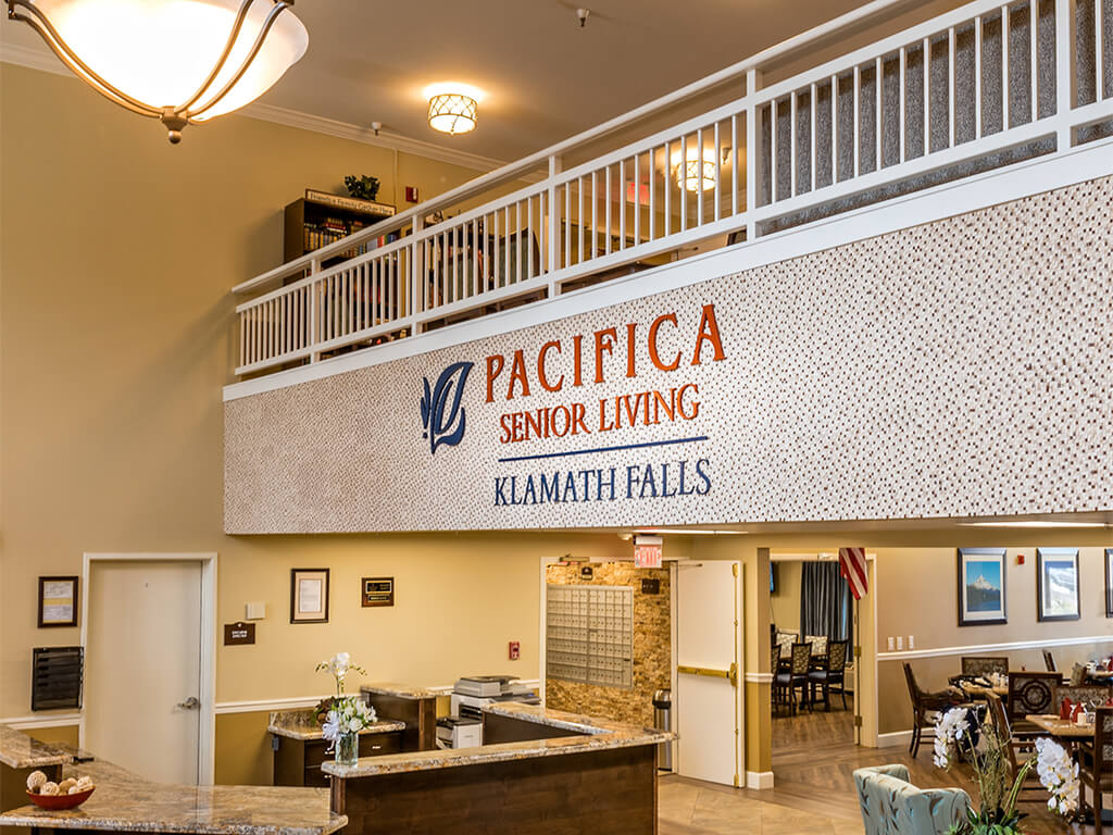 Welcome to our Senior Living Community at Pacifica Senior Living Klamath Falls, Klamath Falls, OR