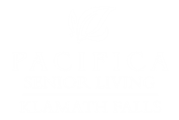 White Property Logo at Pacifica Senior Living Klamath Falls, Klamath Falls, OR