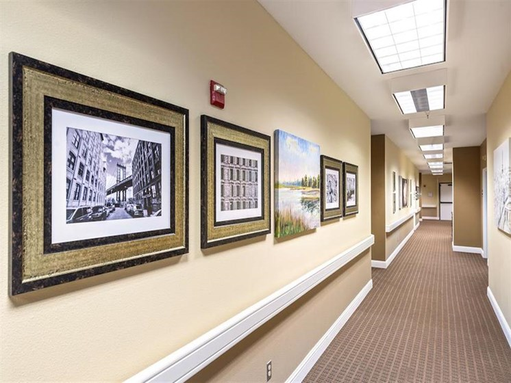 Upgraded decorating at Pacifica Senior Living Merced in Merced, CA