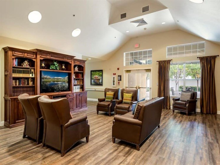 Vaulted Ceilings at Pacifica Senior Living Modesto, Modesto, CA