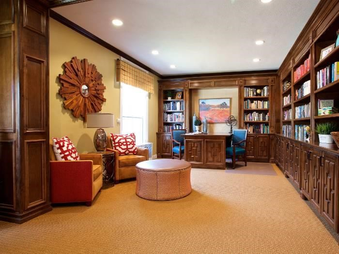 Read a book and relax at Pacifica Senior Living Oakland Heights