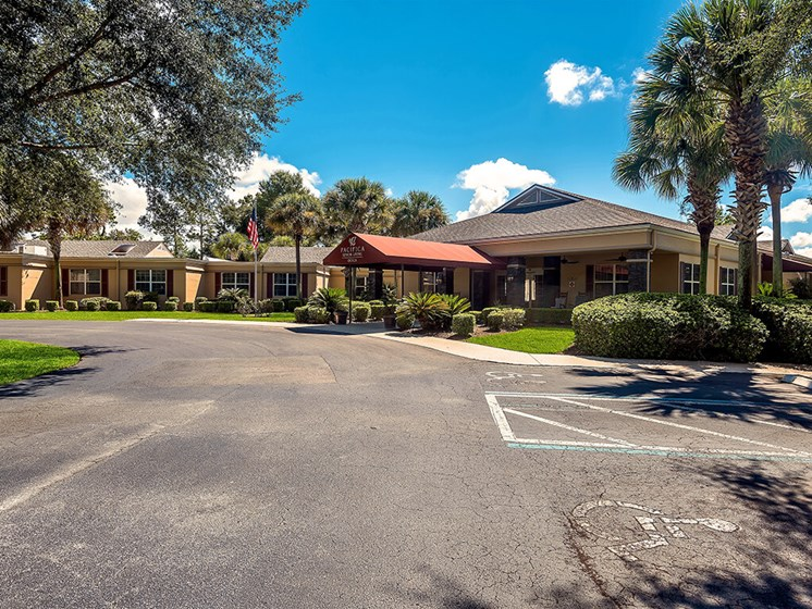 Sunny location in Marion County at Pacifica Senior Living Ocala