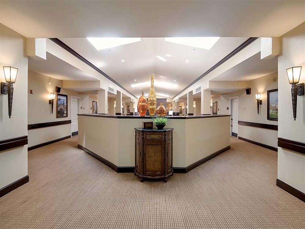 Recently renovated main foyer at Pacifica Senior Living Ocala