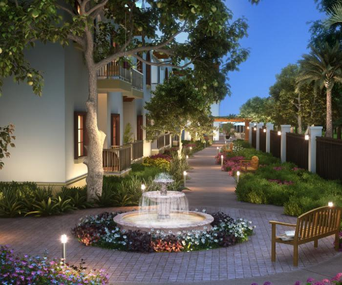 Enjoy a luxury private patio at Pacifica Senior Living Oceanside