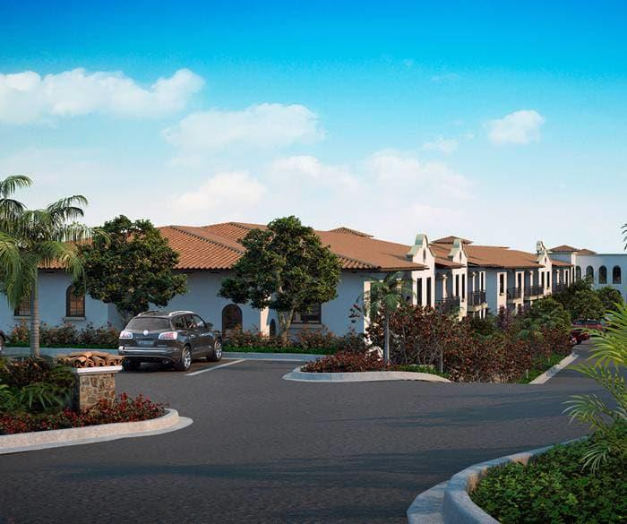 Parking lot around the community at Pacifica Senior Living Oceanside