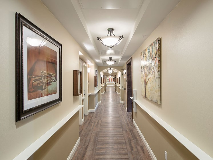 Rich Decor at Pacifica Senior Living Oceanside