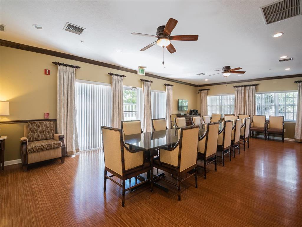 Activity Room for Games and Socializing at Pacifica Senior Living Palm Beach Greenacres, Florida