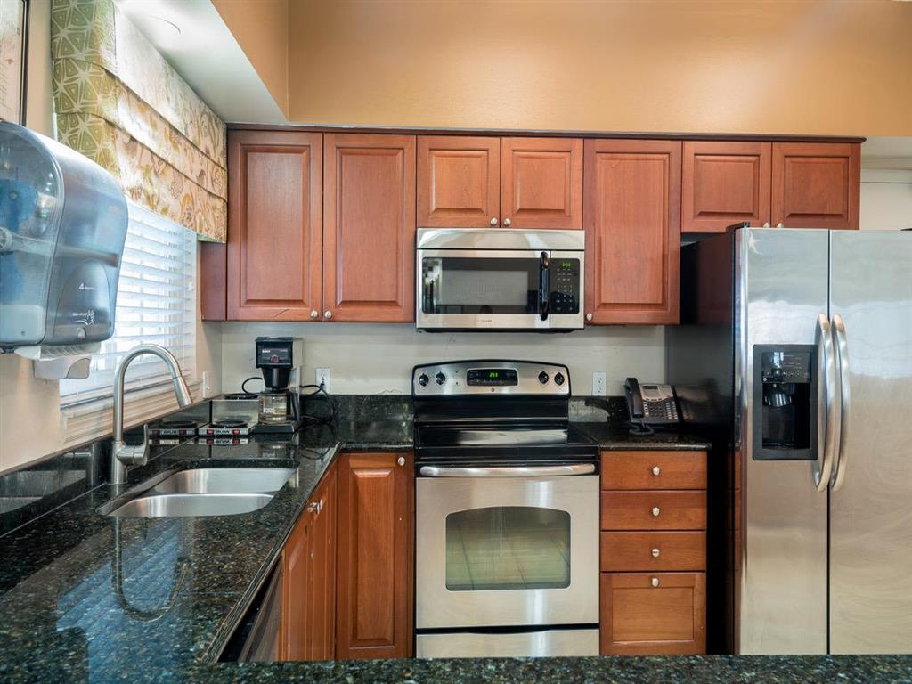 Kitchen at Pacifica Senior Living Palm Beach in Greenacres, Florida