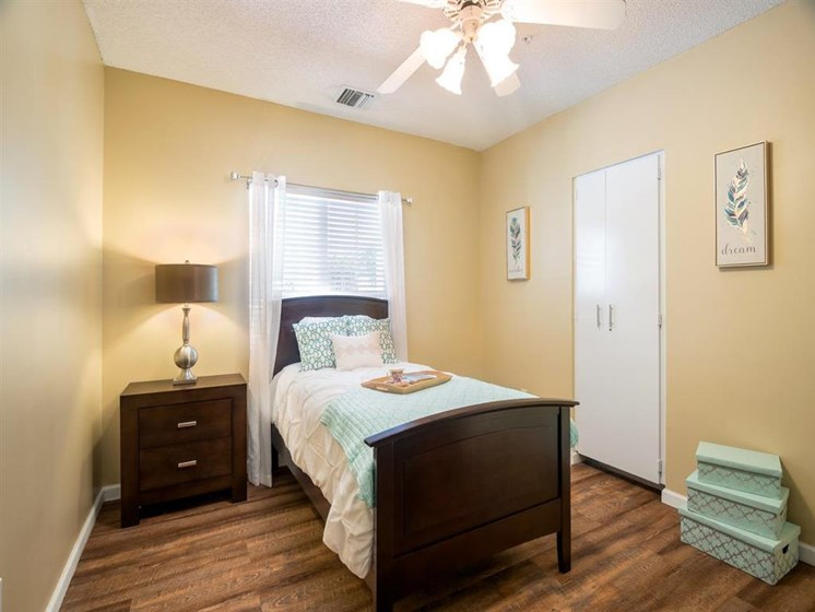 Well Lit Bedroom at Pacifica Senior Living Palm Beach FL
