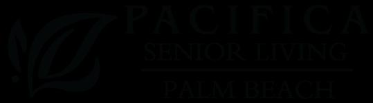 Property Logo Black at Pacifica Senior Living Palm Beach, Greenacres, FL