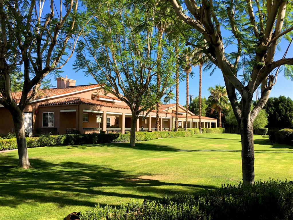 Conveniently located across the street from the library and senior center at Pacifica Senior Living Palm Springs in Palm Springs, California