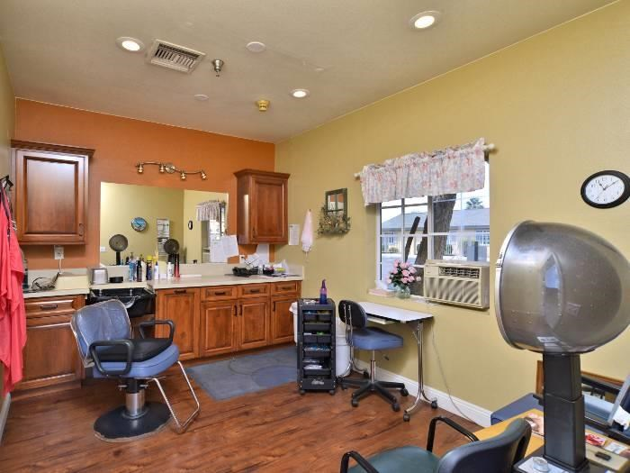 On-site Beauty Salon at Pacifica Senior Living Paradise Valley in Phoenix