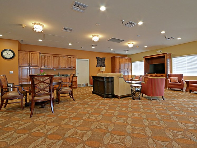 Inviting Activity Room at Pacifica Senior Living Peoria, Peoria