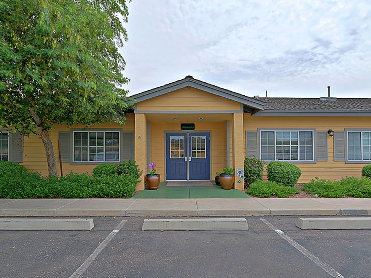 View of Front Entrance at Pacifica Senior Living Peoria, Peoria, AZ, 85382