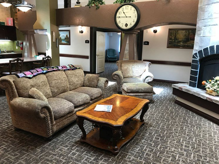 Extra Comfortable Furnishing at Pacifica Senior Living Pinehurst, Pinehurst, ID