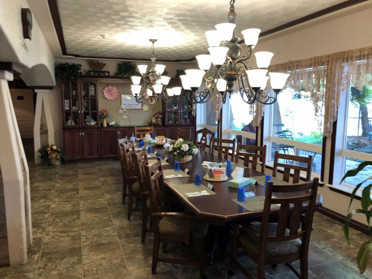 Large Dining Area at Pacifica Senior Living Pinehurst, Idaho, 83850