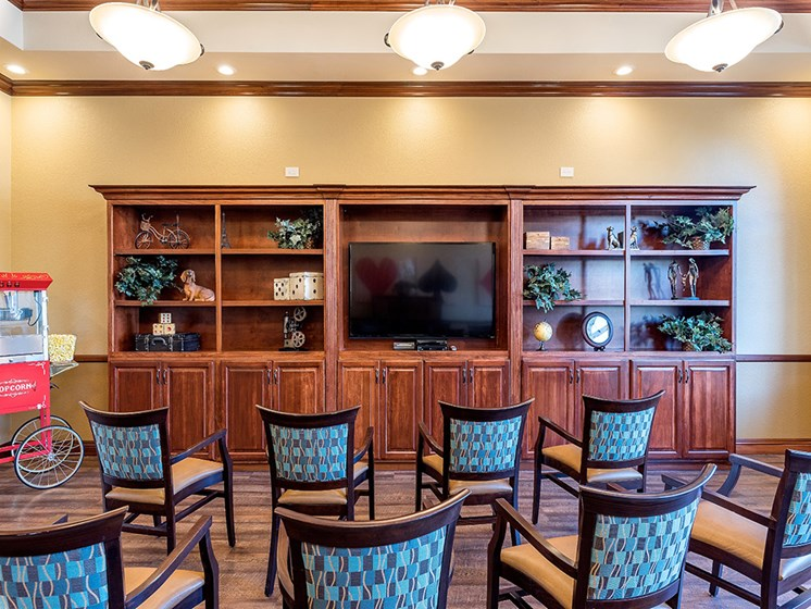 Sophisticated Dining Area,at Pacifica Senior Living San Leandro, San Leandro, 94577