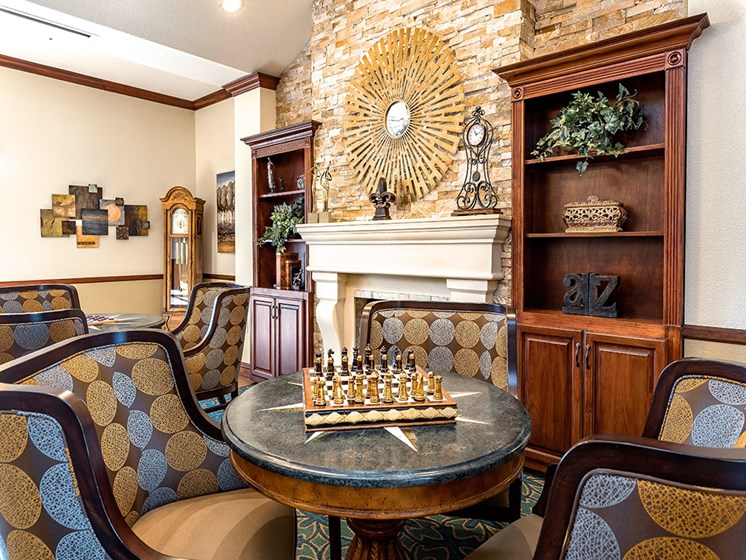 Clubhouse, at Pacifica Senior Living San Leandro, San Leandro, CA