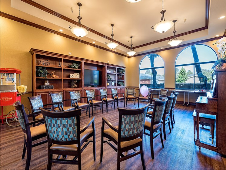Spacious Lobby Area,at Pacifica Senior Living San Leandro, San Leandro, 94577