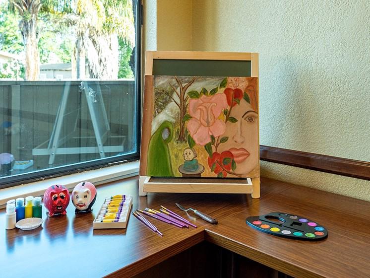 Beautiful painting ,at Pacifica Senior Living San Leandro, San Leandro California