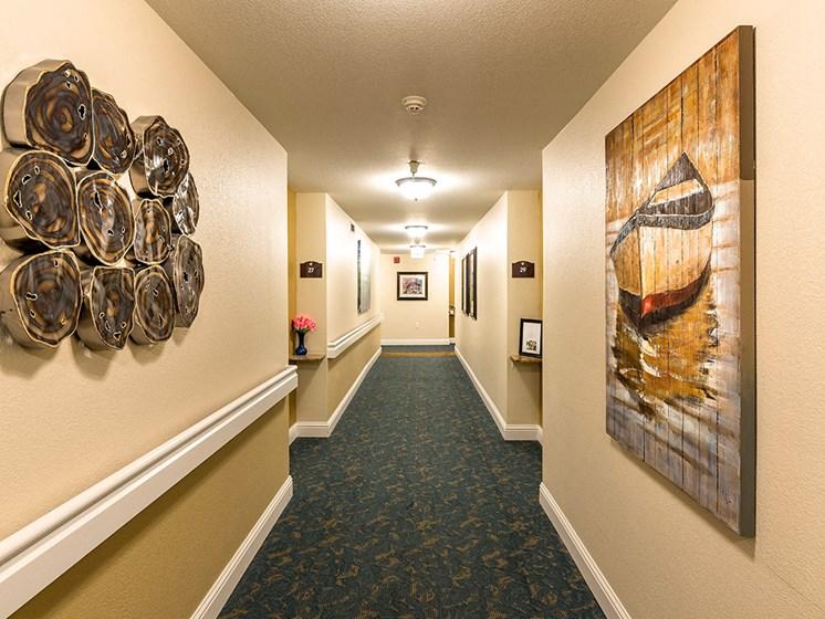 Spacious Lobby Area,at Pacifica Senior Living San Leandro, California, 94577
