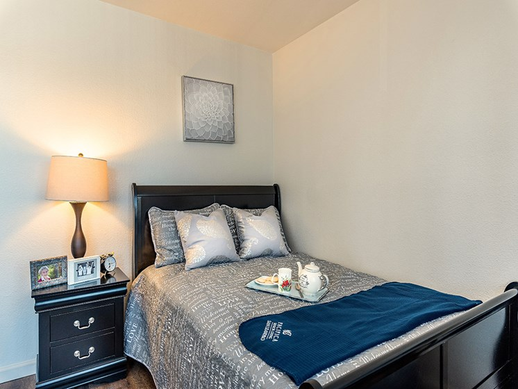 Bedroom with Closet, at Pacifica Senior Living San Leandro, San Leandro, CA 94577