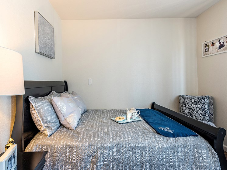 Cozy Bedroom, at Pacifica Senior Living San Leandro, San Leandro California