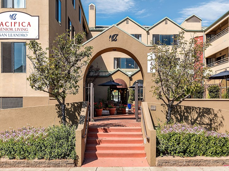 Convenient Property Location, at Pacifica Senior Living San Leandro, California, 94577