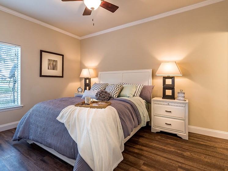 King Size Bedroom at Pacifica Senior Living Skylyn, Spartanburg, SC