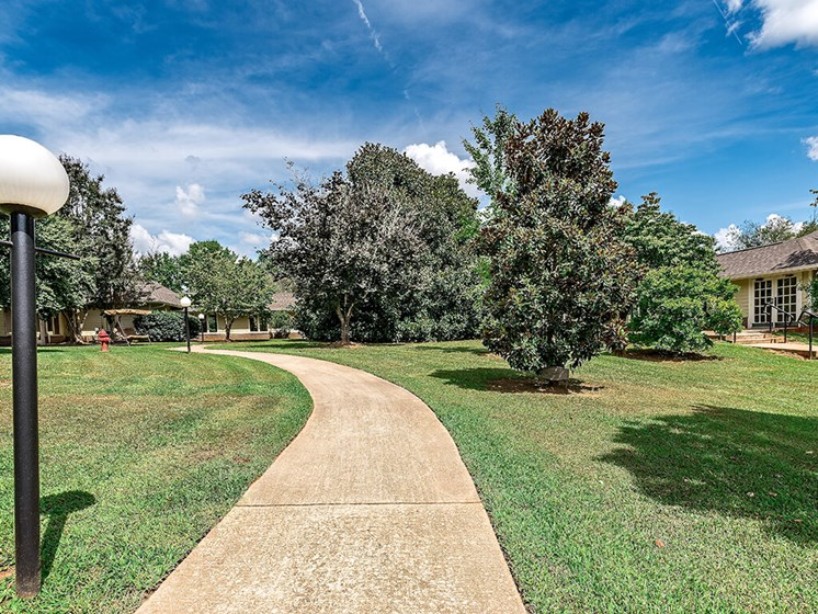 Walking Paths - outdoor at Pacifica Senior Living Skylyn, Spartanburg, South Carolina