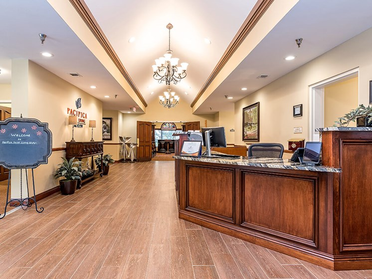 Reception Office at Pacifica Senior Living Skylyn, Spartanburg, 29307
