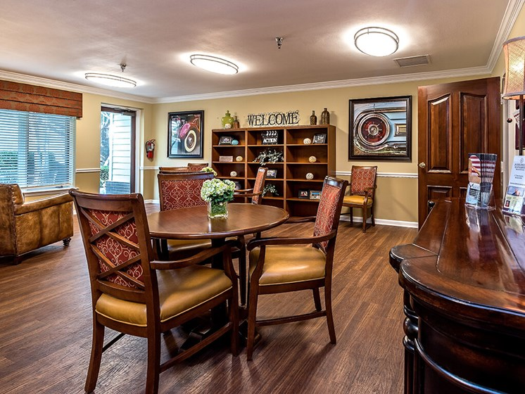 Indoor Common Areas at Pacifica Senior Living Skylyn, Spartanburg