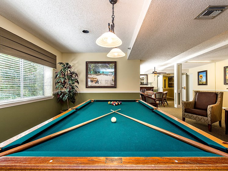 Game Room at Pacifica Senior Living Skylyn, South Carolina, 29307