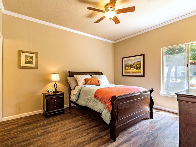 Large Comfortable Bedrooms at Pacifica Senior Living Skylyn, Spartanburg, SC, 29307