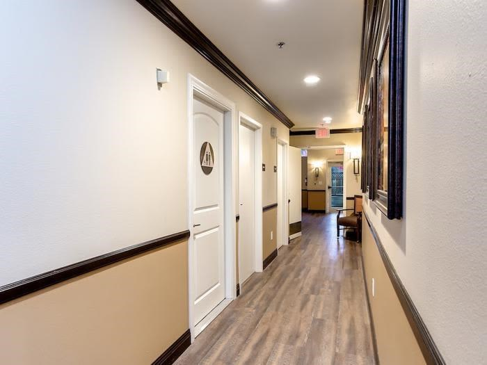 View of corridor in Pacifica Senior Living Snohomish