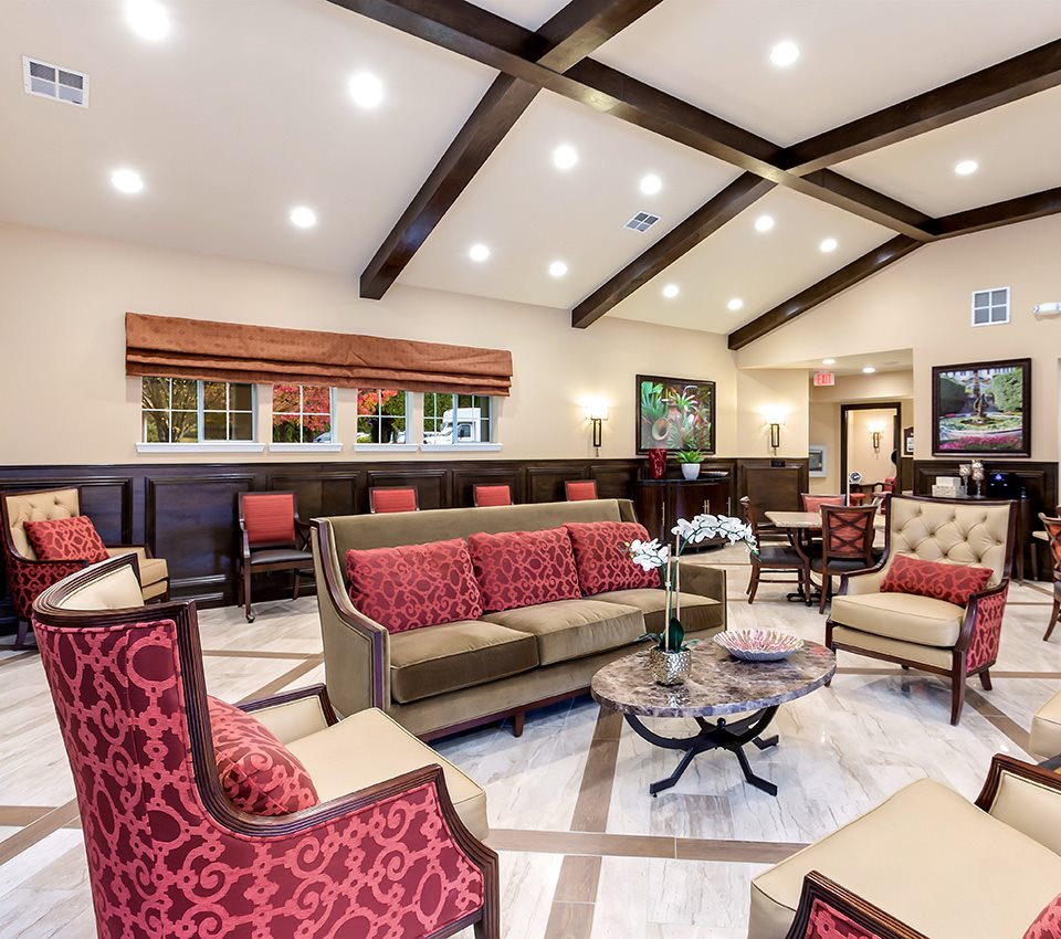 Lively Living Rooms at Pacifica Senior Living Snohomish, Snohomish, 98290