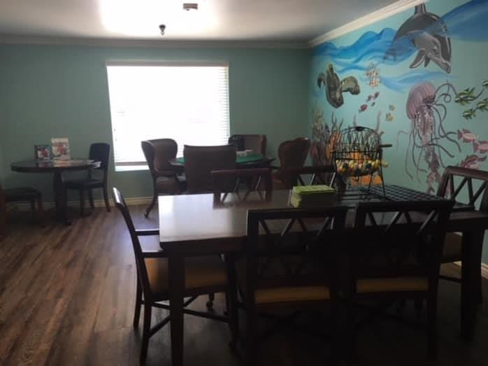 Fabulous Activity Room at Pacifica Senior Living South Coast, Costa Mesa