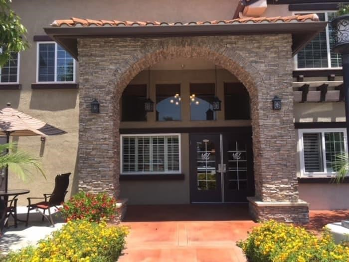 Appearance of Main Entrance at Pacifica Senior Living South Coast, Costa Mesa, CA, 92627