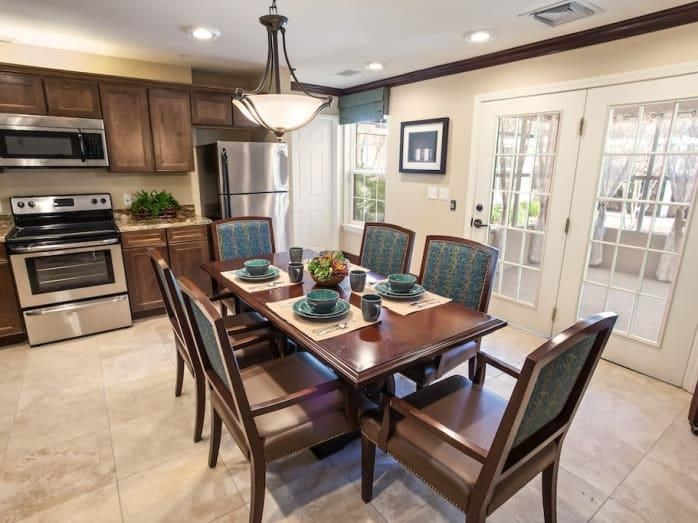 Beautiful kitchen at Pacifica Senior Living Spring Valley