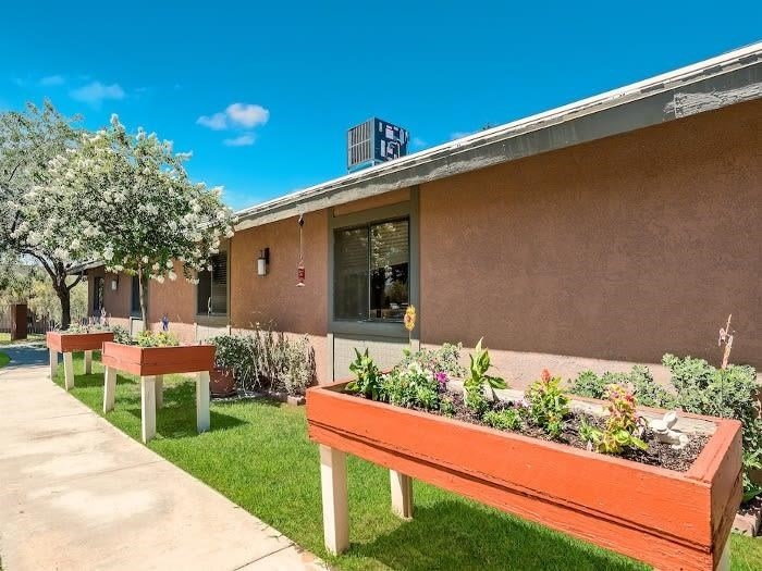 Beautiful Planter Boxes at Valley Crest Memory Care, Apple Valley, CA, 92307