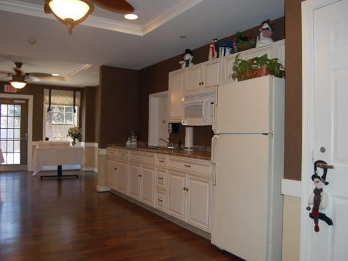 Beautiful kitchen at Pacifica Senior Living Victoria Court