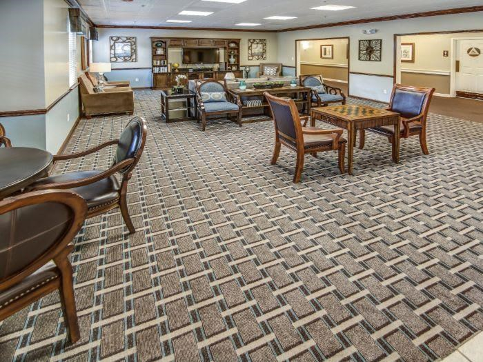 Game Room hobbies at Pacifica Senior Living Woodmont