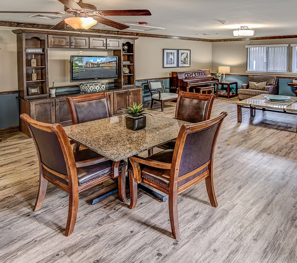 Recreation Room at Pacifica Senior Living Woodmont, Florida, 32303
